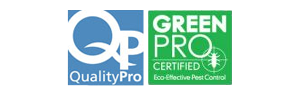 GreenPro and QualityPro Certified logos
